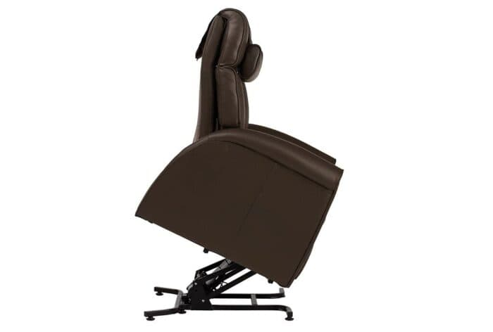 Duke Lift Chair Black 45 Degree Angle | Relax For Life
